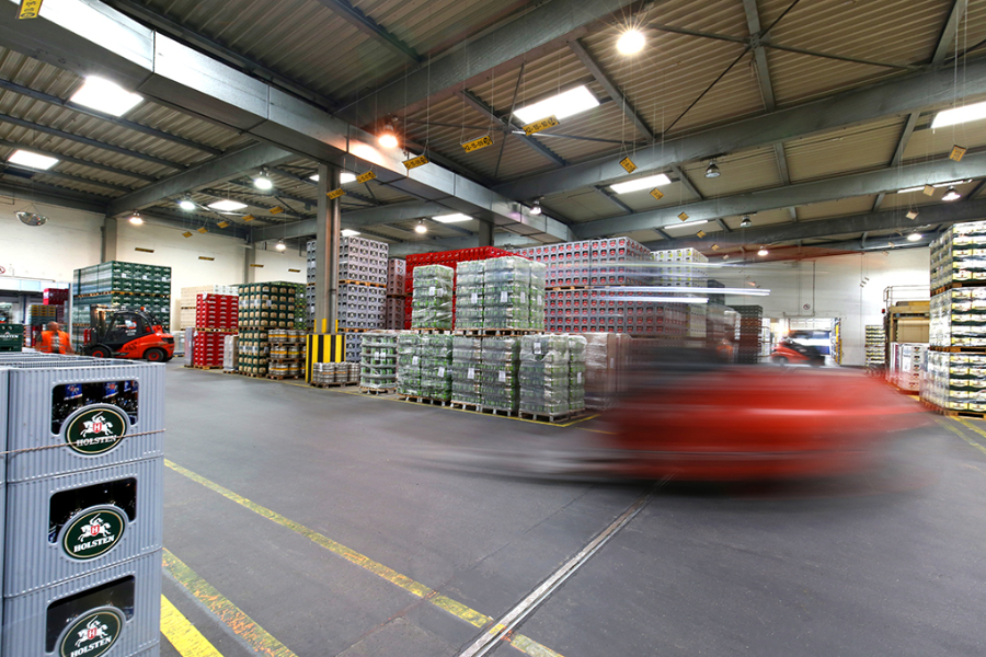 Carlsberg, Industrie, Holsten, Logistig Gabelstapler, Manfred Freye, Fotografie