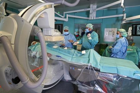 Philips Hybrid OP. Krankenhaus Viechtach, Fotograf Manfred Freye Hamburg