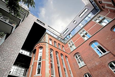 Innenhof, Architekturfotografie Manfred Freye Architekturfotograf Hamburg