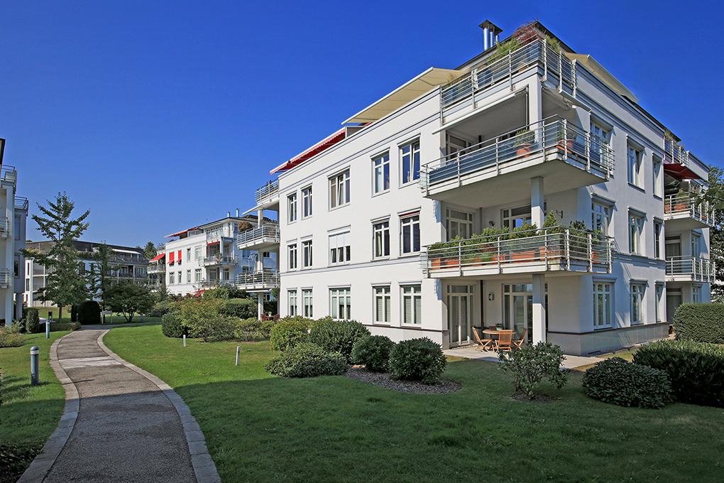 Luxuswohnanlage an der Elbe Hamburg Architekturfotografie Foto Manfred Freye Hamburg